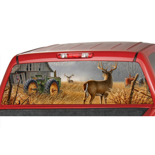 John Deere Truck Decals EBay - Rear window hunting decals for trucks