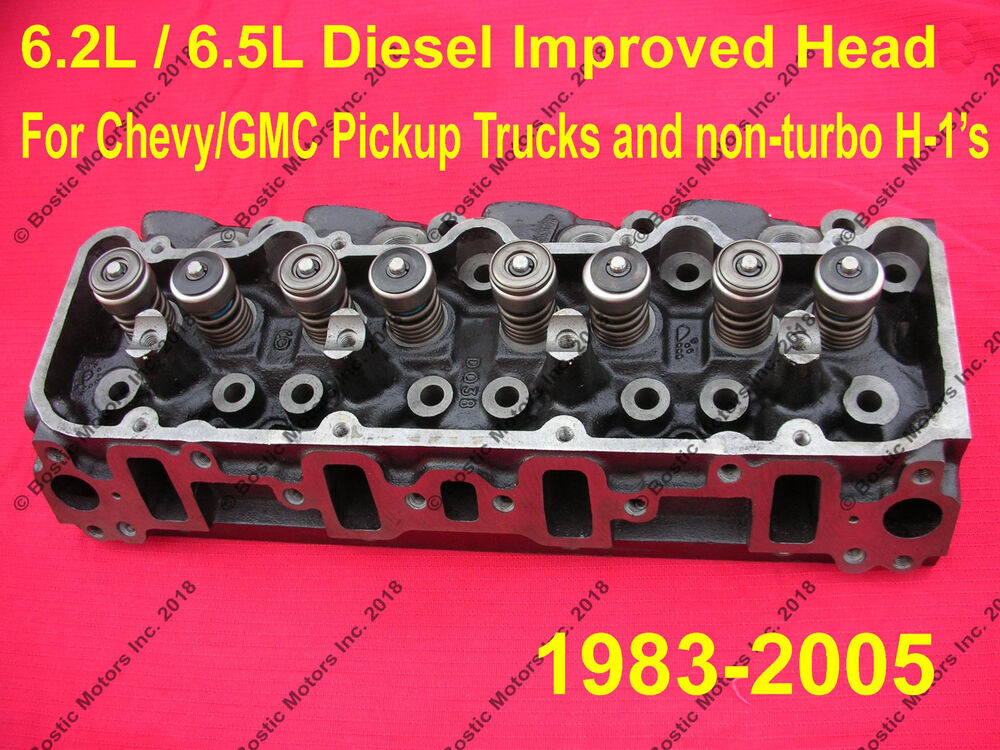 6.5 / 6.2 Diesel Cylinder Head Heads NEW / IMPROVED ...