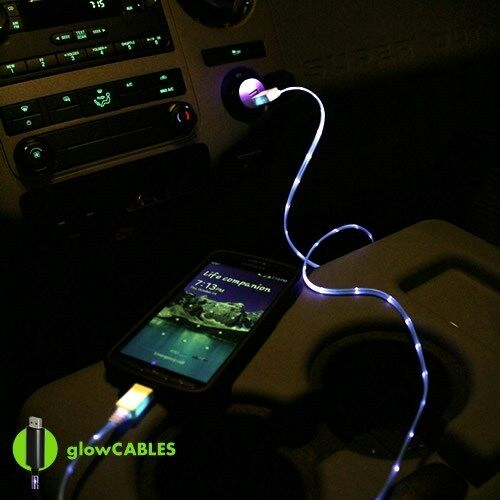 Light Up Iphone Car Charger