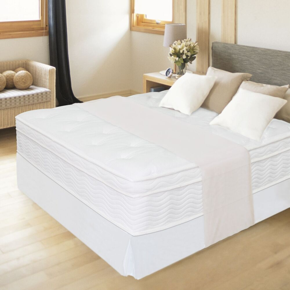 New 12 Night Therapy Euro Box Top Spring Mattress Queen