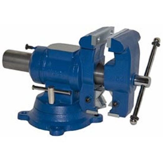 new yost 5 1 8 multi jaw rotating pipe bench vise ebay. Black Bedroom Furniture Sets. Home Design Ideas