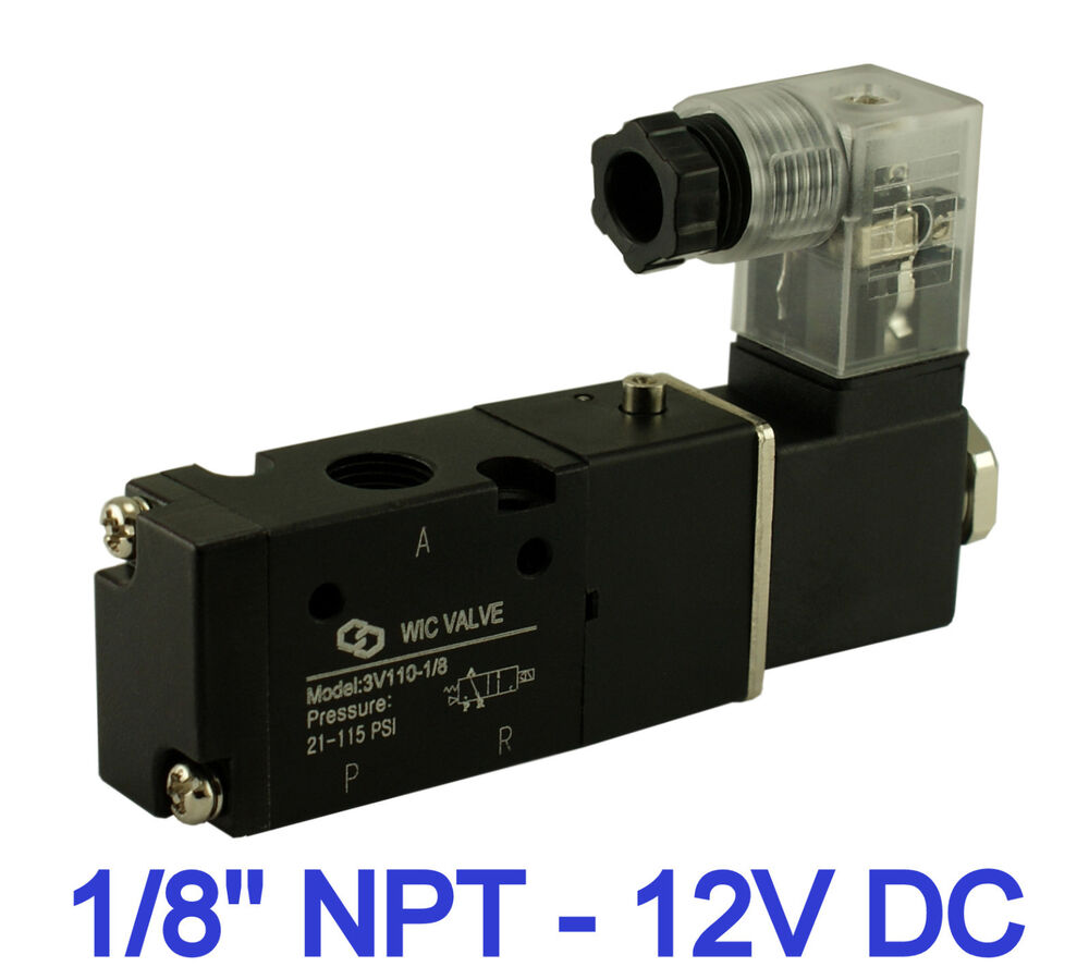 1  8 Inch Pneumatic 3 Way Electric Directional Control Air