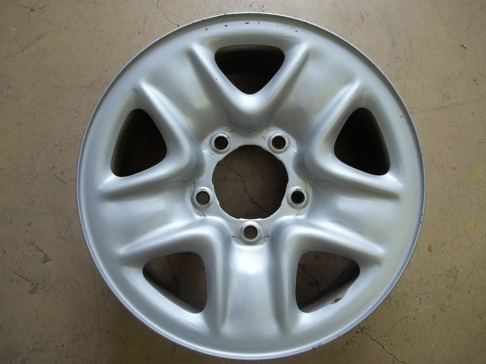 18 Inch Rims And Tires >> 07 08 09 10 11 Toyota Tundra Truck Sequoia Steel Wheel Rim ...