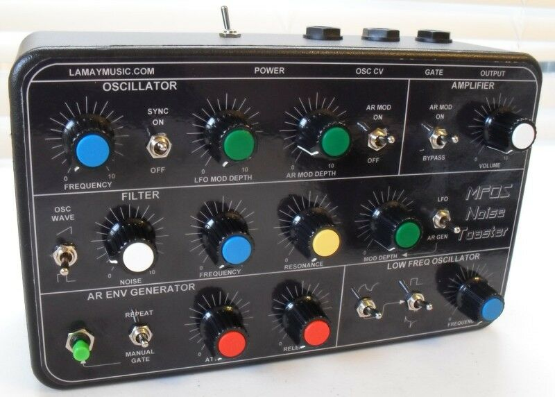 Mfos Noise Toaster Analog Synth Made In Detroit Now