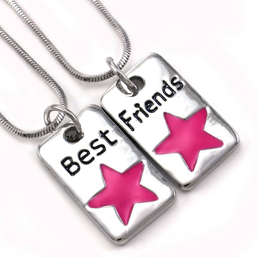 Best Friend Dog Tag And Necklace
