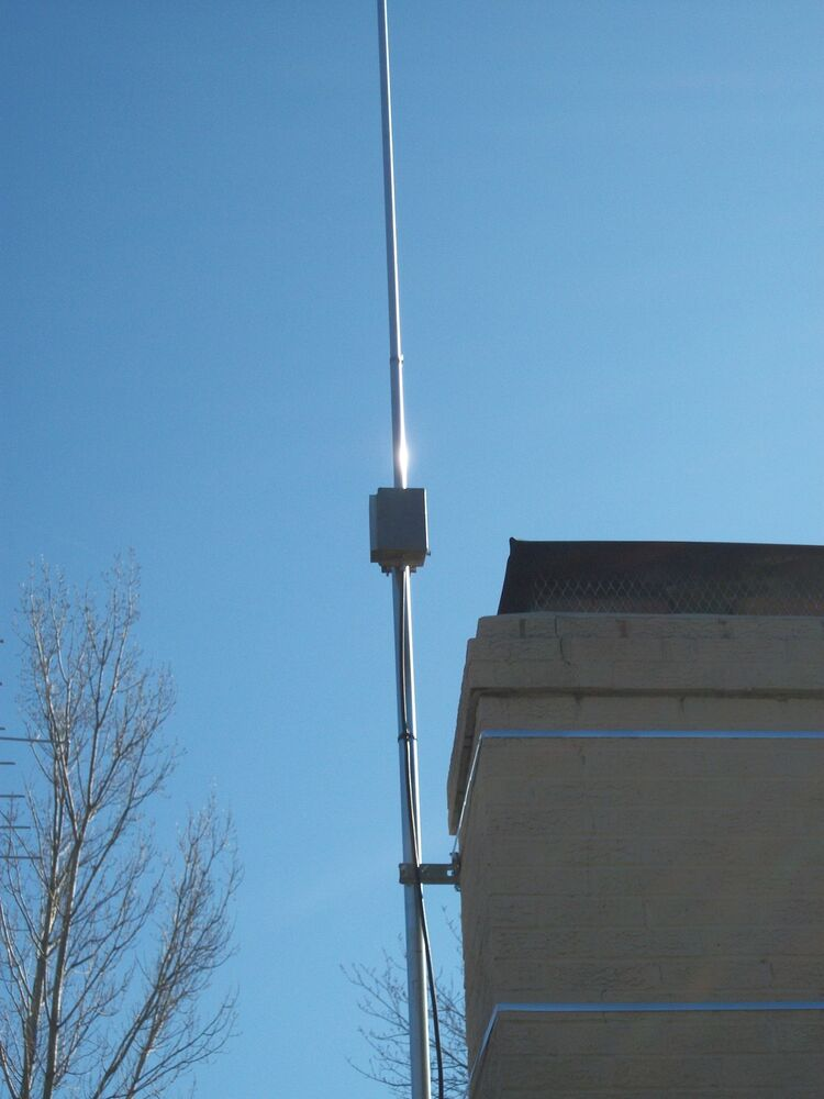 Hf amateur mobile multiband antenna