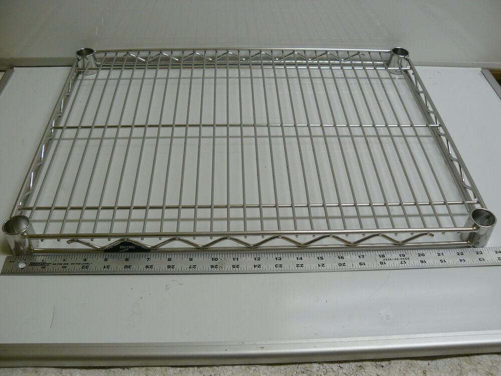 new metro 1824ns super erecta wire shelf 18 x 24. Black Bedroom Furniture Sets. Home Design Ideas