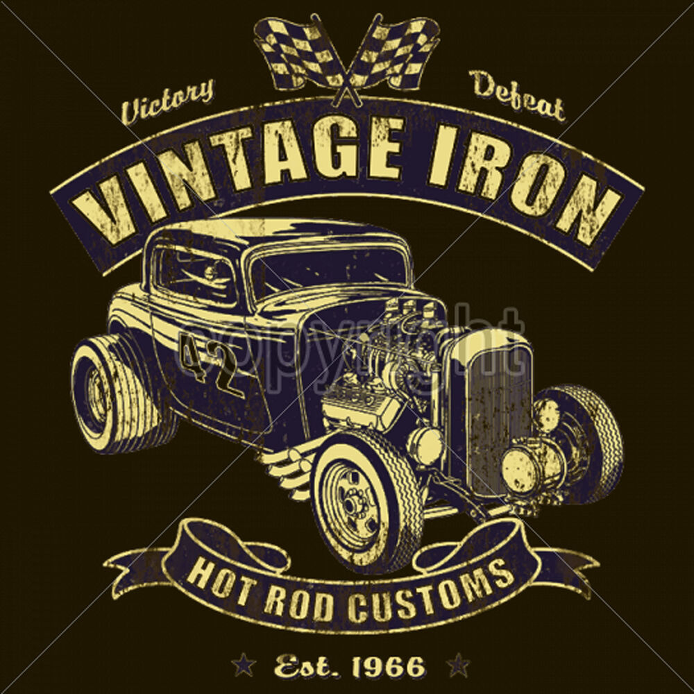 hot rod t shirts custom rat rod cool vintage race car
