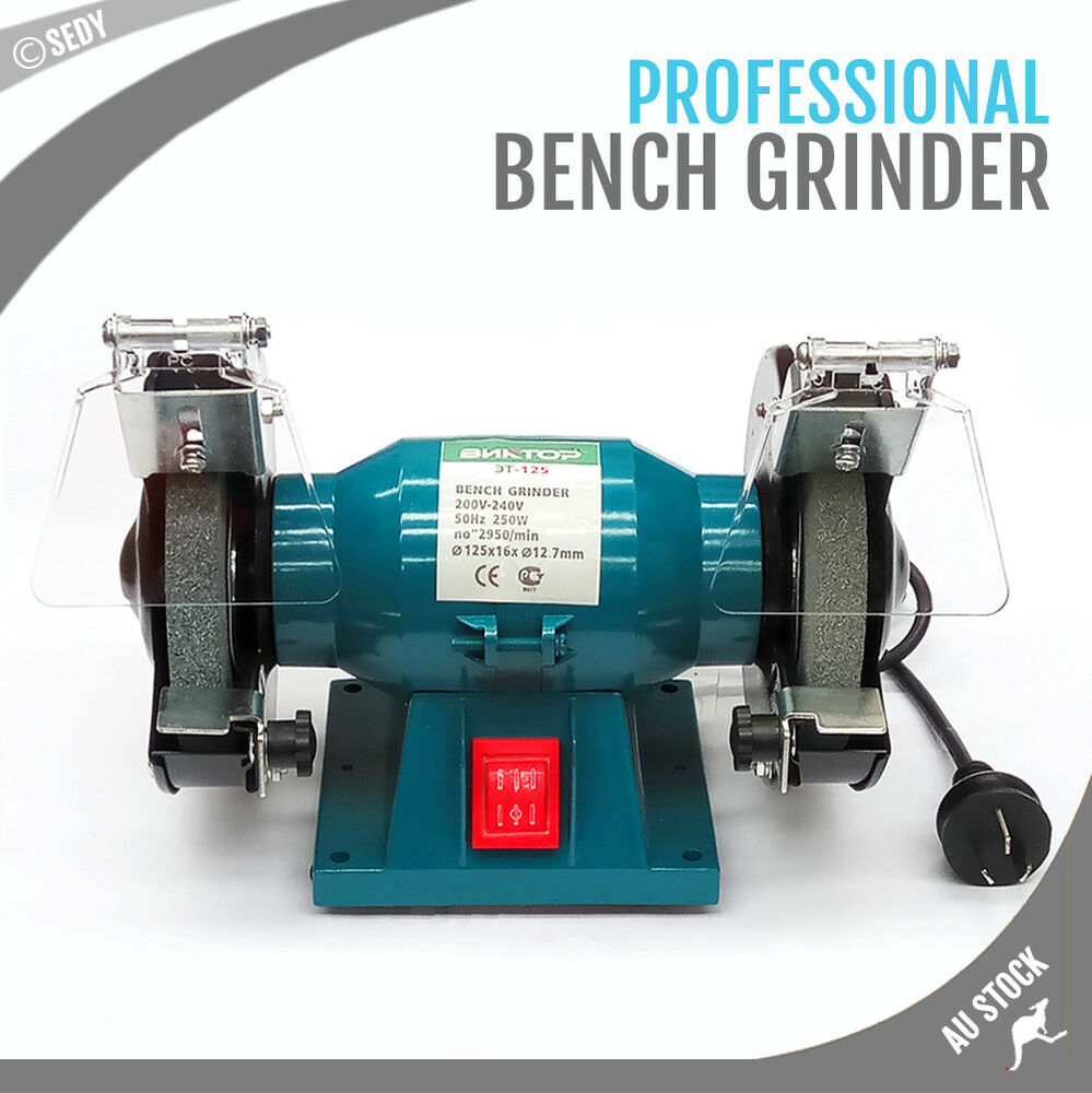 125mm 5 Quot Royce Bench Grinder Coarse Fine Grinding Double