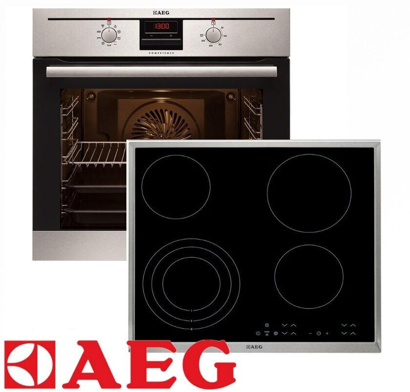 aeg herdset autark backofen glaskeramik kochfeld autark 60cm touchcontrol ebay. Black Bedroom Furniture Sets. Home Design Ideas