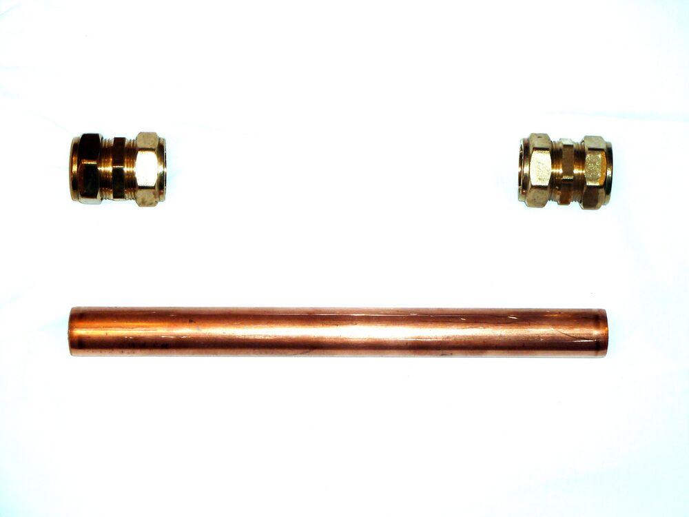 28mm copper plumbing pipe repair kit with compression. Black Bedroom Furniture Sets. Home Design Ideas