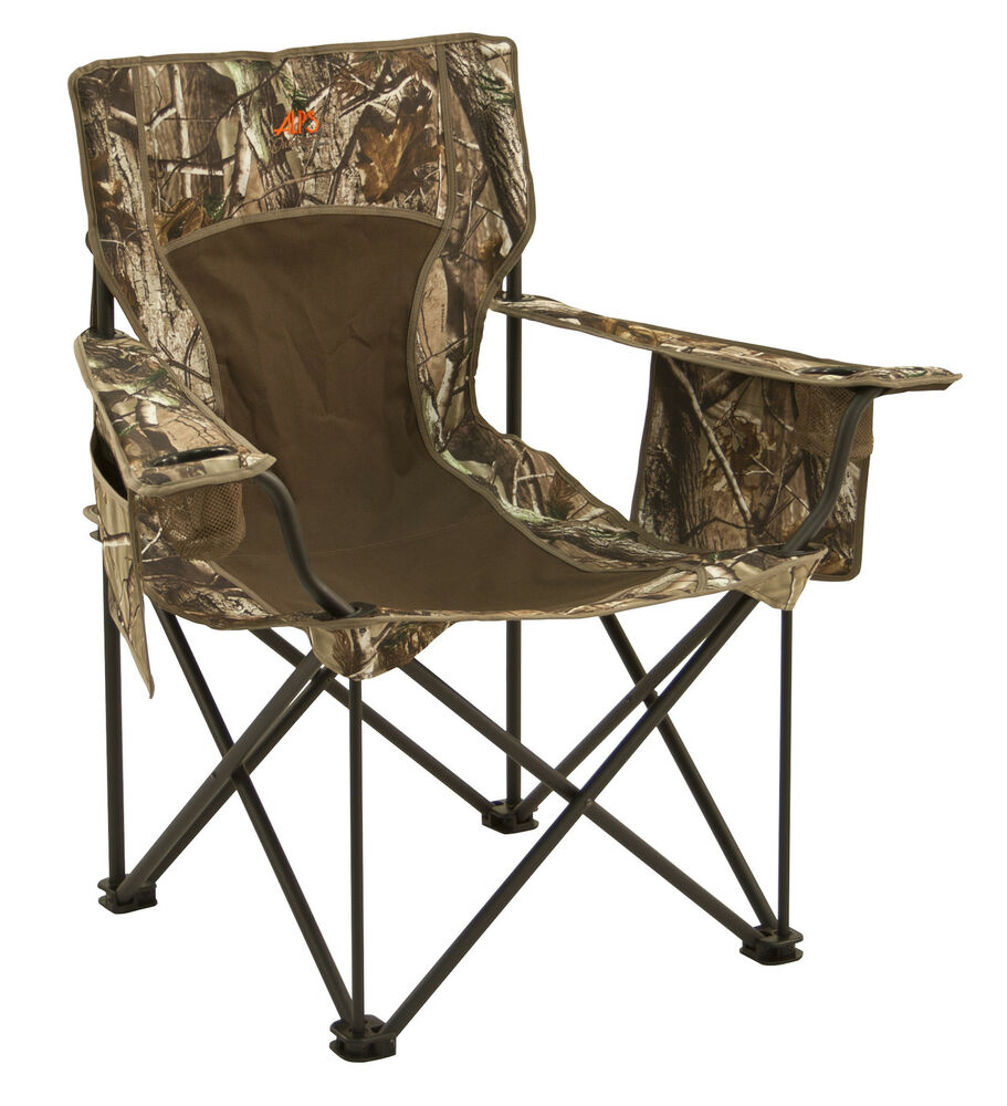 King Kong Extra Heavy Duty Camouflage Camping Chair Holds 800 lbs