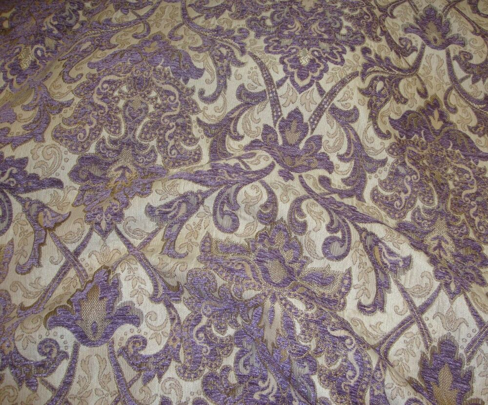 Chenille passion damask chenille upholstery drapery fabric for By the yard fabric