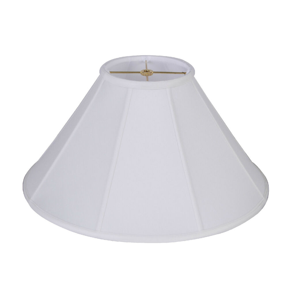 Silk Lamp Shades : Quot off white coolie shantung silk lampshade cream fabric