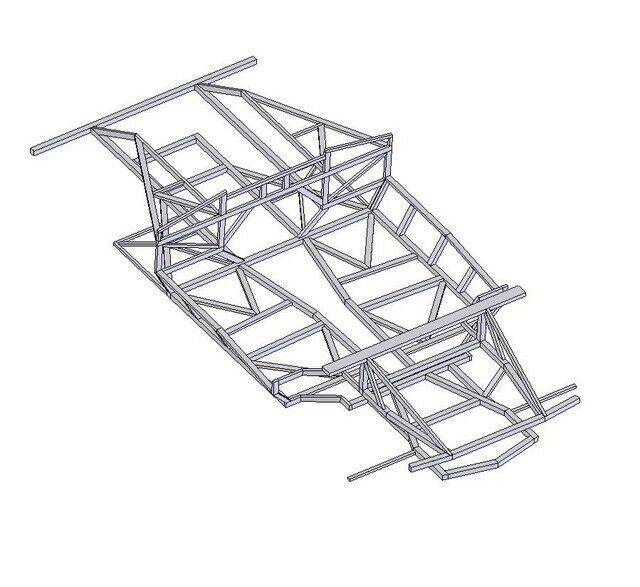 Naerc North American Exotic Replica Car Chassis Plans