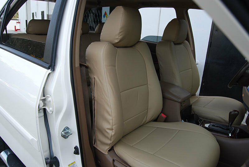 ACURA MDX 2007-2013 IGGEE S.LEATHER CUSTOM FIT SEAT COVER ...