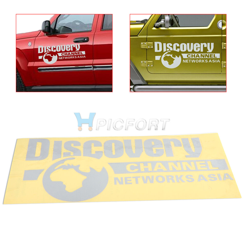 Details about new discovery channel reflect headlamps eyebrows car stickers decal car stickers