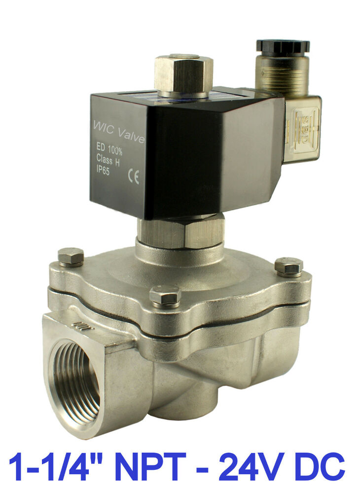 """FREE SHIPPING 1//4/"""" 24V AC Electric Brass Solenoid Valve Water Air Gas 24 Volt"""