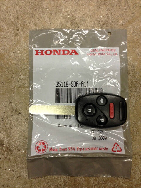 Genuine Oem Honda Accord Keyless Remote Entry Key 2003 2007 Ebay