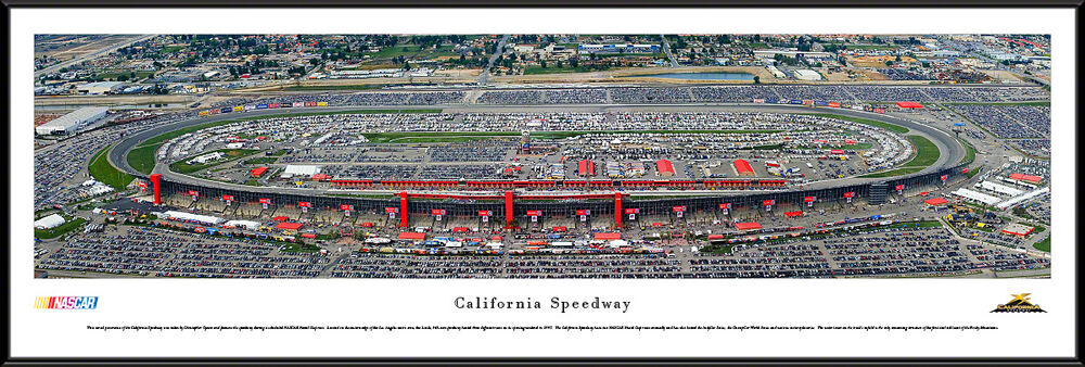 California speedway track los angeles framed nascar for Motor speedway los angeles