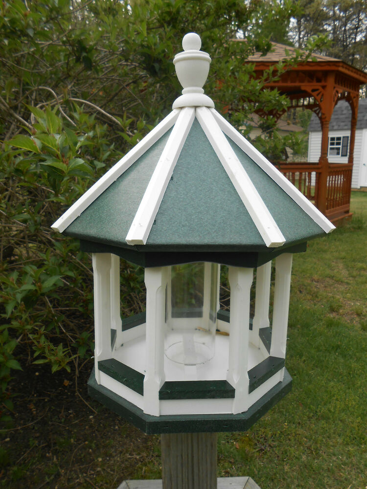 Vinyl Bird Feeder Amish Homemade Handmade Handcrafted ...