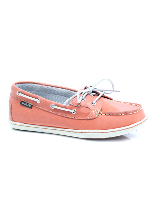 Black Leather Boat Shoes Womens