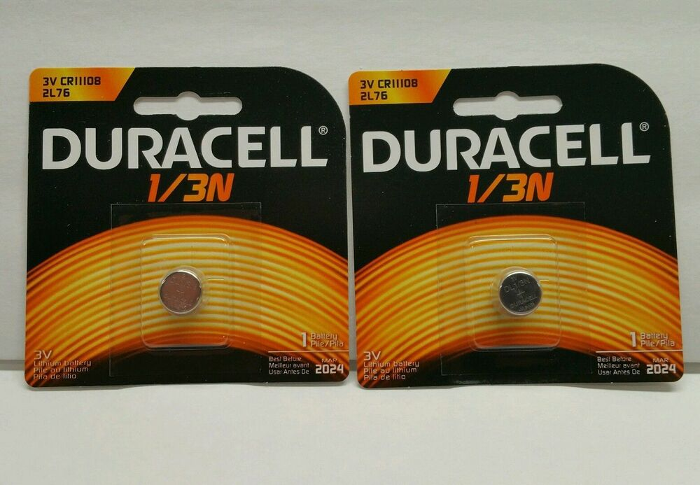2 pcs genuine duracell 3v lithium battery 1 3n dl1 3n cr1. Black Bedroom Furniture Sets. Home Design Ideas