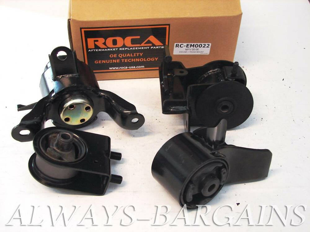 Rocar Engine Mount Motor Transmission Mount Bushing Mazda