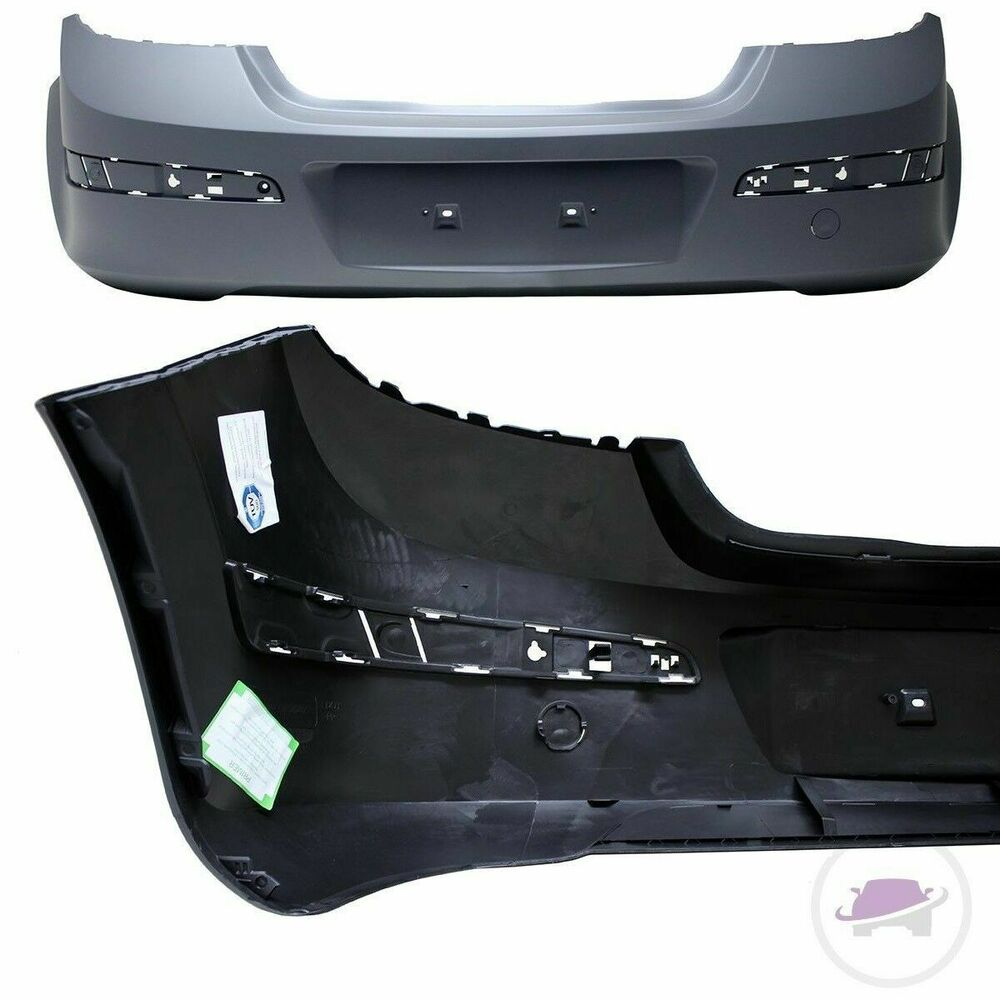 opel astra h 2004 2009 sto stange hinten heck grundiert 5 t rer abs kunststoff ebay. Black Bedroom Furniture Sets. Home Design Ideas
