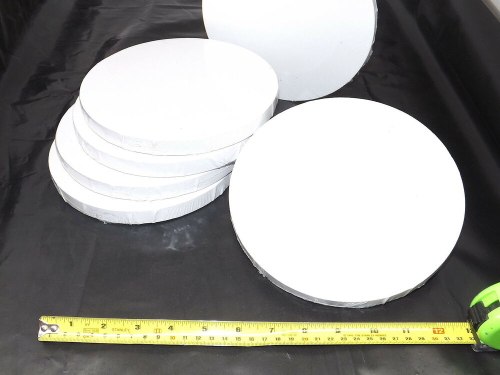 8 circular stretched canvas 20cm round pre primed for for Oil or acrylic