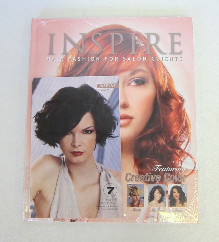 hair styling books for salons inspire hair fashion book for salon clients vol 75 8770