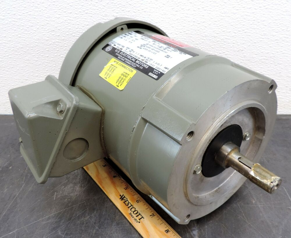Emerson Us Electrical Motor Unimount 1745 Rpm 1 3 Hp 230