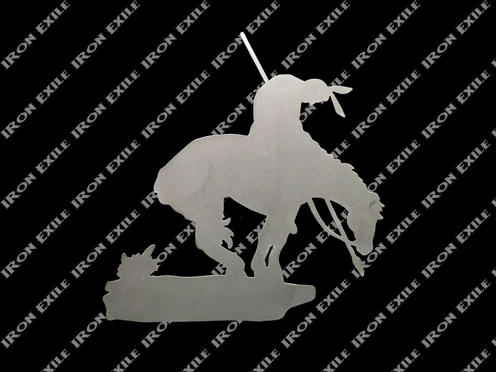 End Of The Trail Native American Indian Horse Metal Wall Art Southwestern Ebay