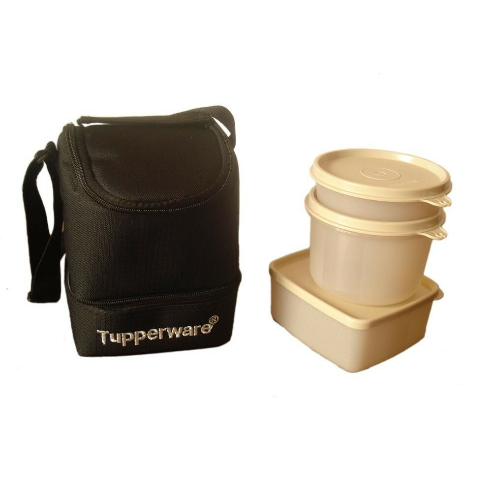 tupperware trendy lunch lunch box with insulated bag free shipping ebay. Black Bedroom Furniture Sets. Home Design Ideas