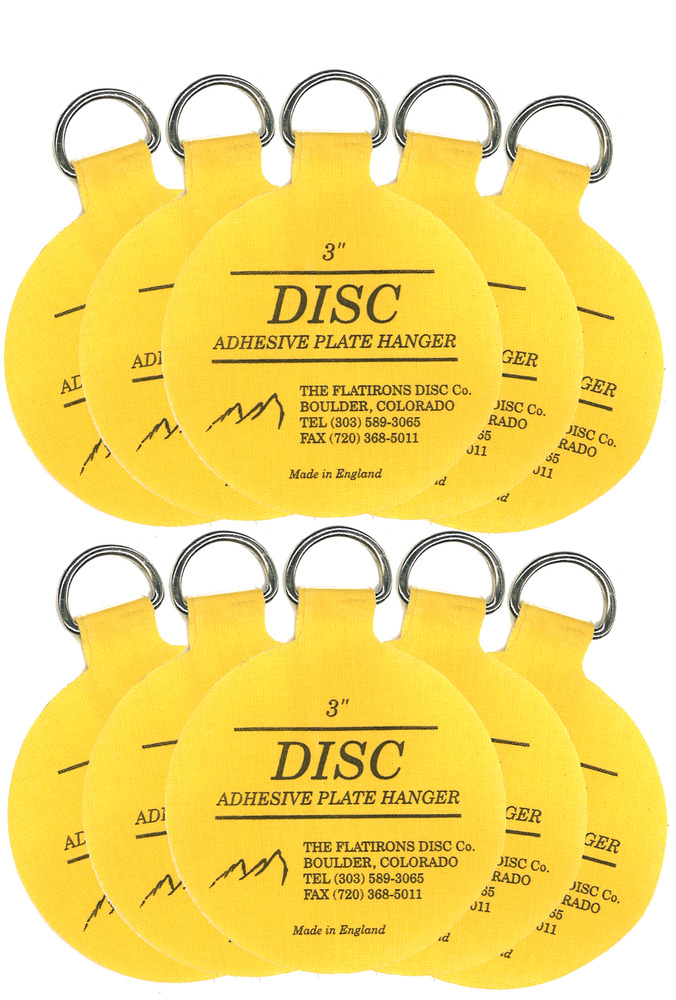 Original Invisible Disc Adhesive Plate Hangers Set of Ten 3 Inch 762470787385 | eBay  sc 1 st  eBay & Original Invisible Disc Adhesive Plate Hangers Set of Ten 3 Inch ...