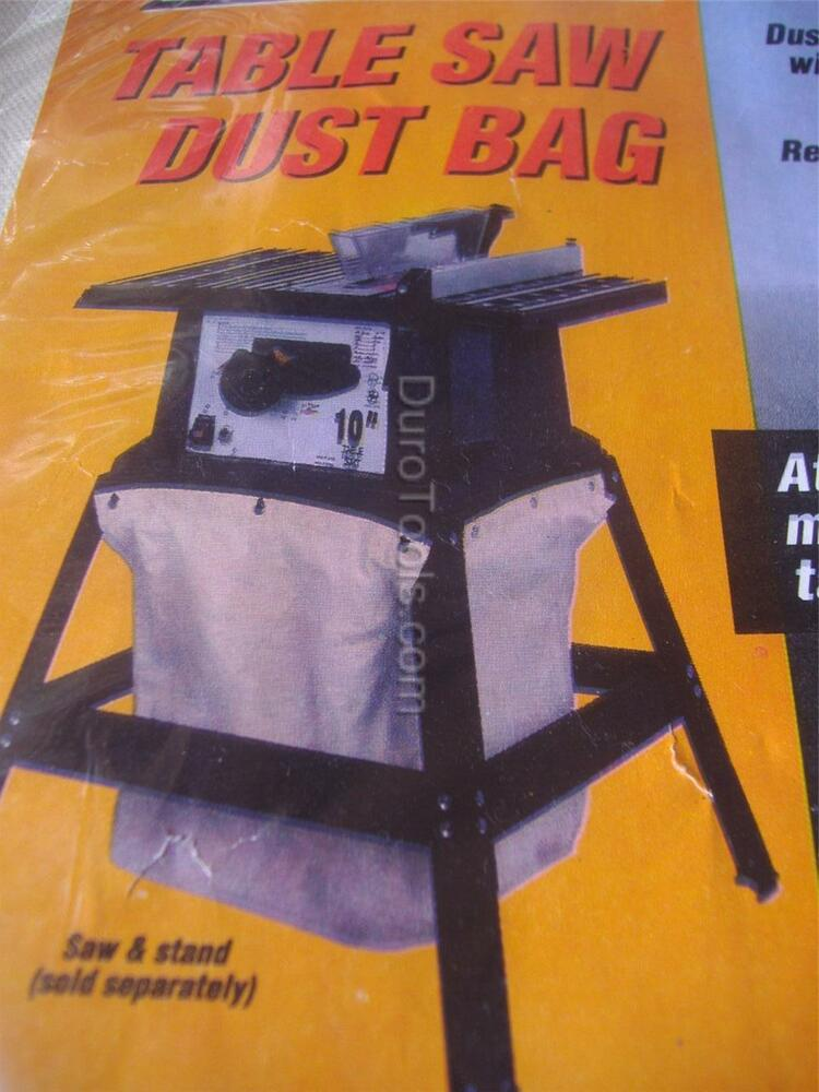 Table Saw Dust Collector Collection Bag For Stands Skil