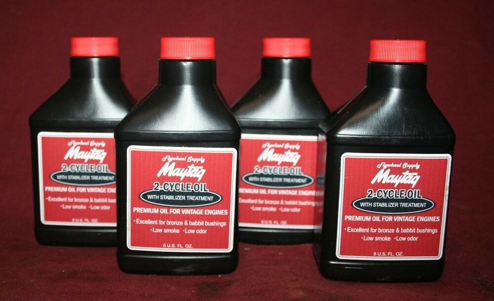 4 Maytag Two Cycle Oil Mix Gas Fuel Engine Motor Model 92