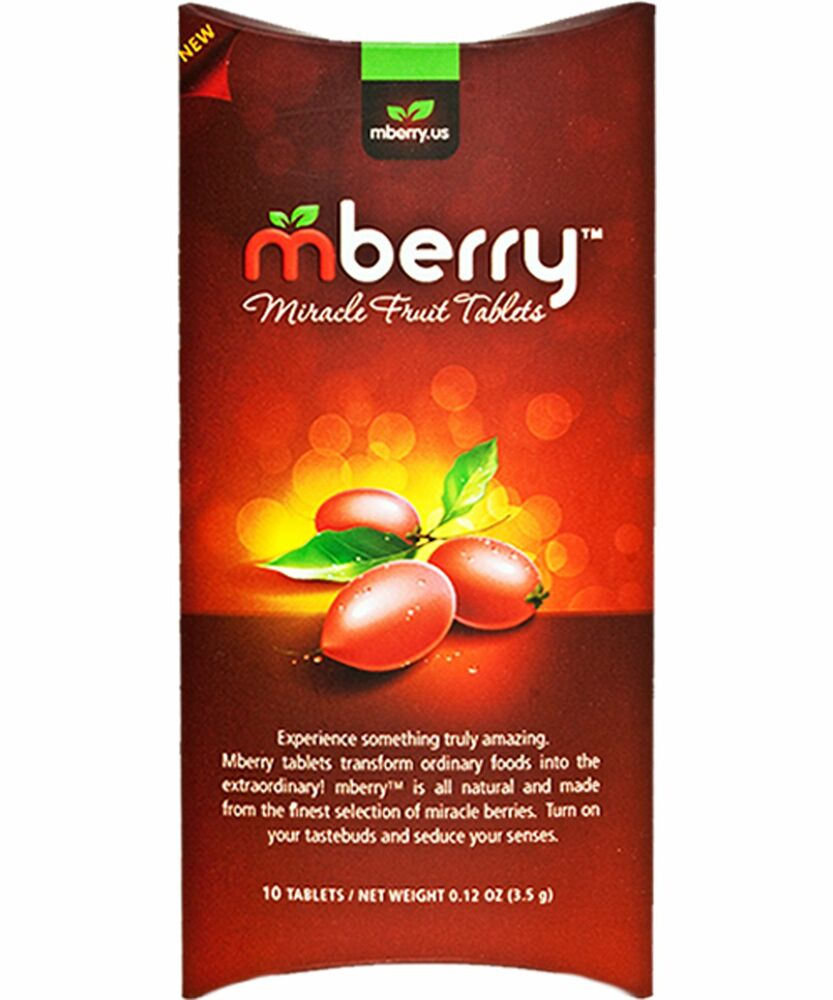 miracle berry fruit tablets mberry originals 99 miracle