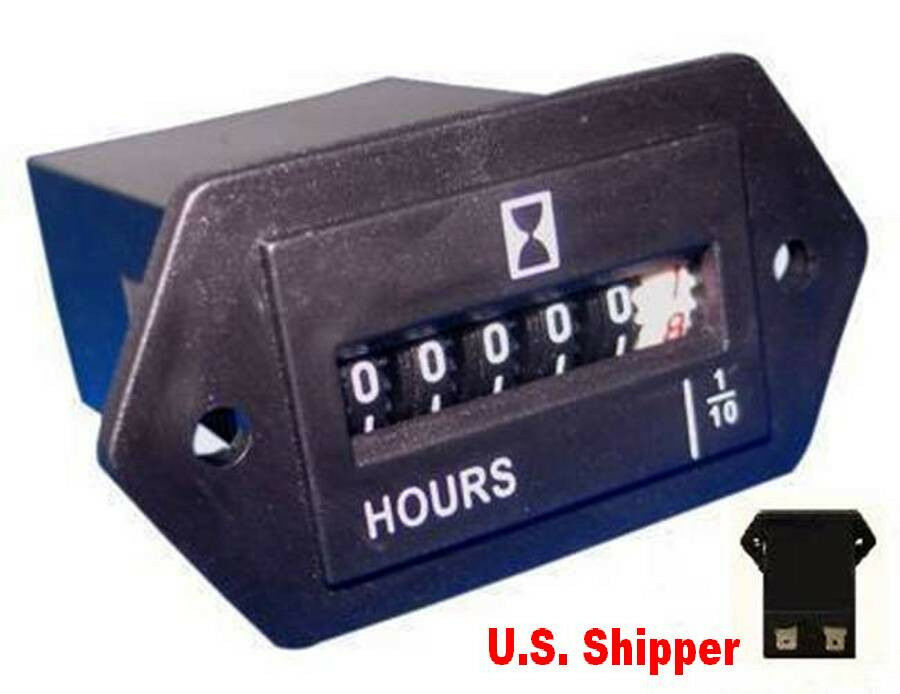 Hour Meters For Electrical Equipment : Hour meter generator equipment volt cyc new