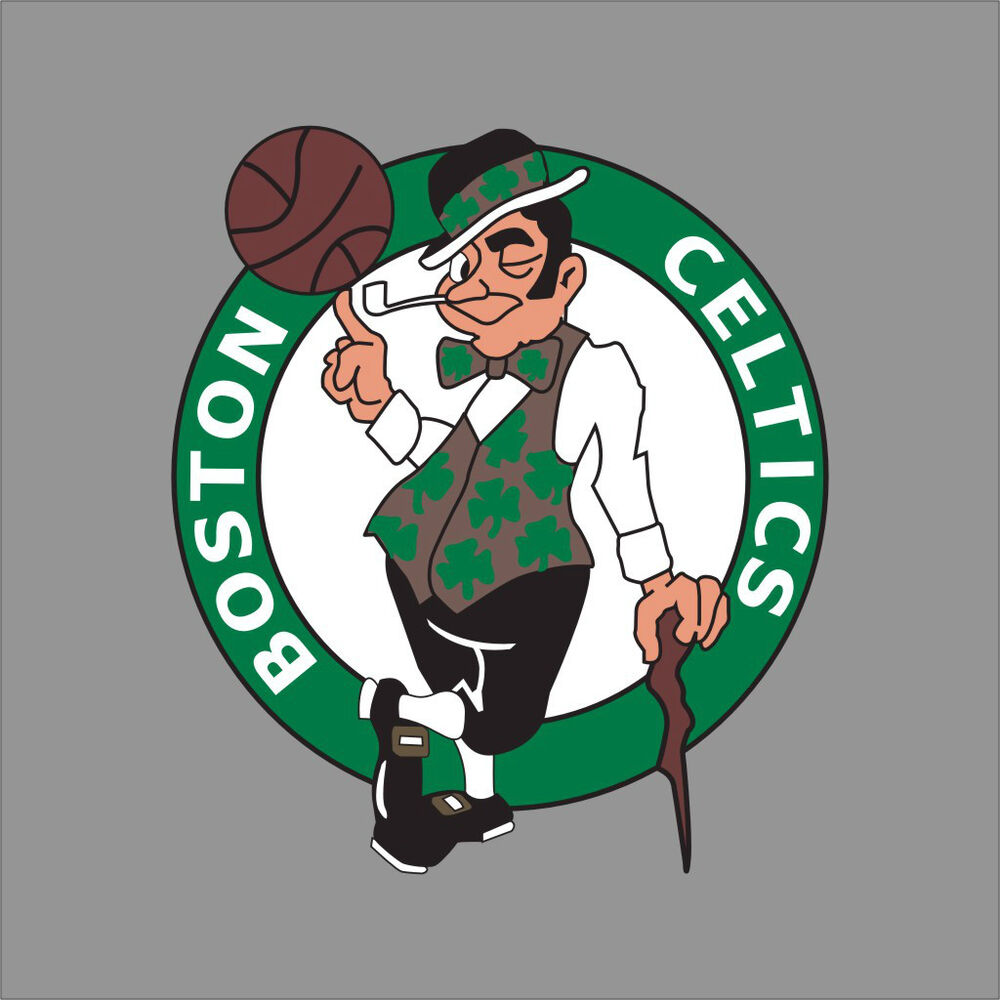 Boston Celtics Nba Team Logo Vinyl Decal Sticker Car
