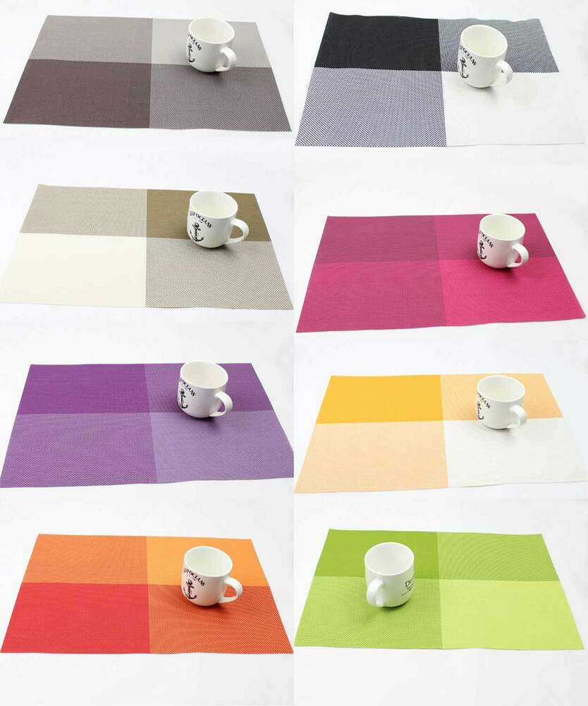 Multicolor Desk Placemats Insulation Mat Coffee Kitchen Dinning Table Mats Home Ebay
