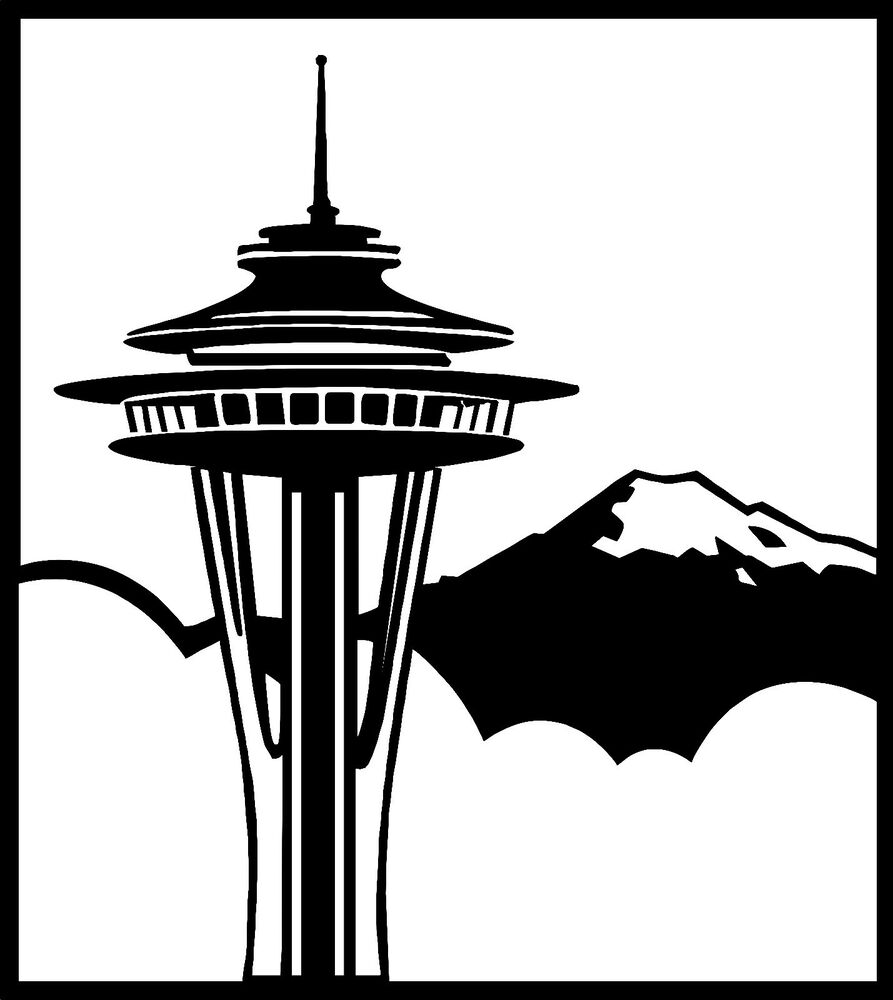 clipart of space needle - photo #31