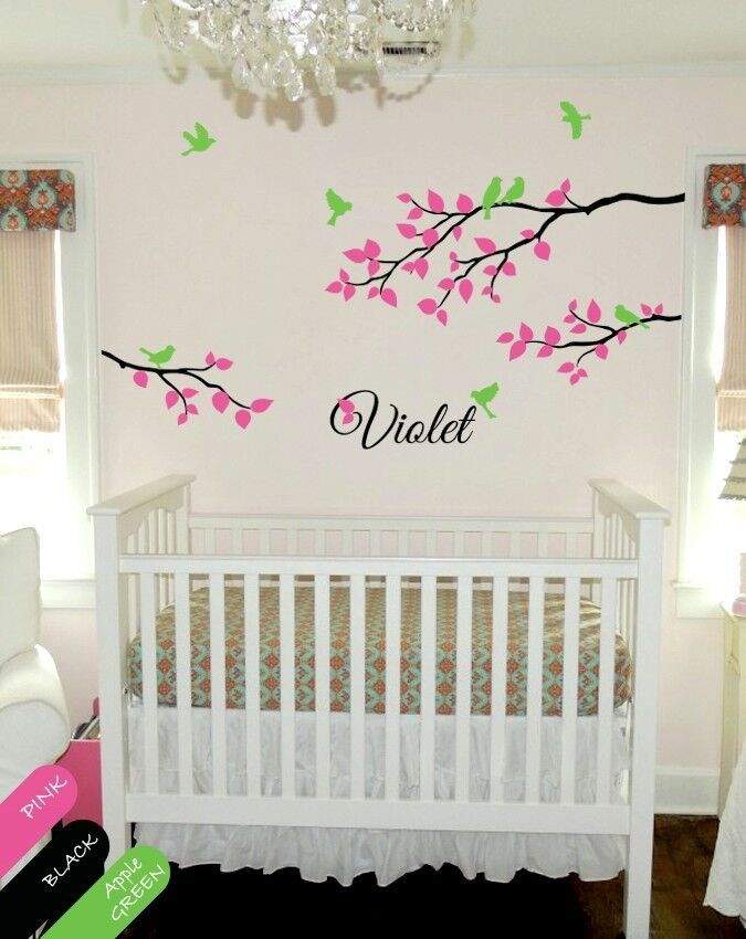 Babys Room Decoration Personalized Over The Rainbow Wall Canvas