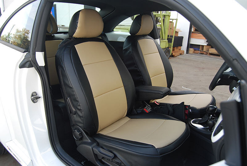 volkswagen beetle 2012 2014 iggee s leather custom fit seat cover 13 colors ebay. Black Bedroom Furniture Sets. Home Design Ideas