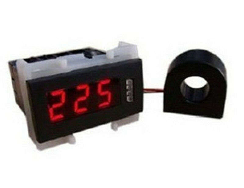 Ac Amp Meter Panel : New in mini ac v a red led digital panel amp