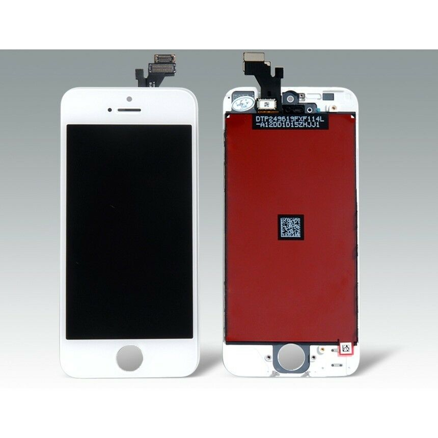 Iphone 5s lcd display screen touch digitizer lens glass replacement