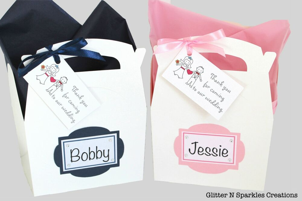 Personalised Childrens Wedding Activity Gift Box Pack Book Party ...