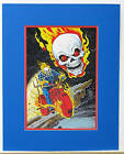 Vintage 1978 GHOST RIDER Pin up Poster Marvel MATTED