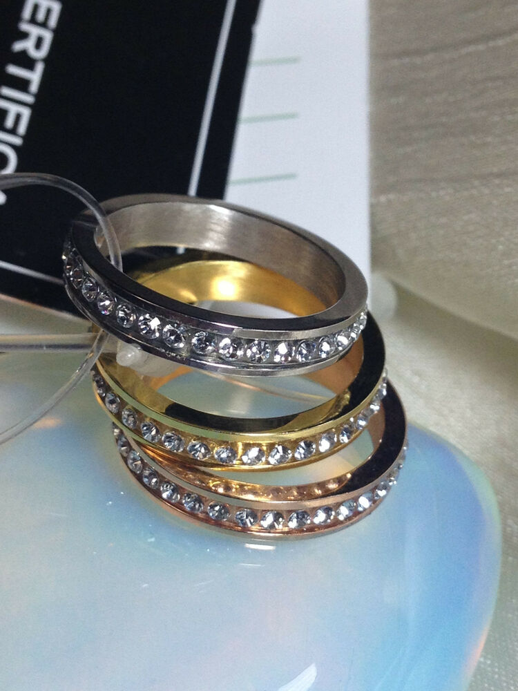 layered gold rose gold sterling silver stacked ring. Black Bedroom Furniture Sets. Home Design Ideas