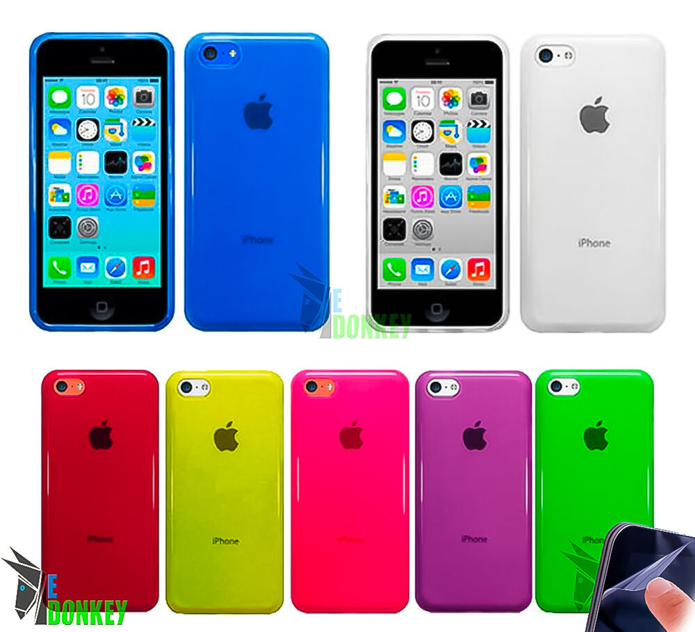 iphone 5c apple case custodia cover per apple iphone 5c tpu gel 6580